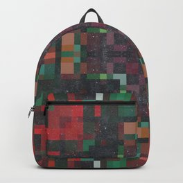 Fall Colors Pixelated Backpack