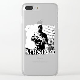 For Airsoft Enthusiasts Clear iPhone Case