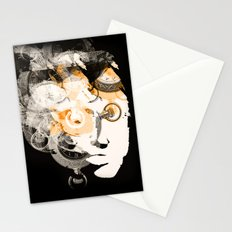 Face of Time Stationery Cards