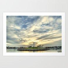When the Sky Speaks Art Print