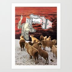 American Politicians Today Art Print