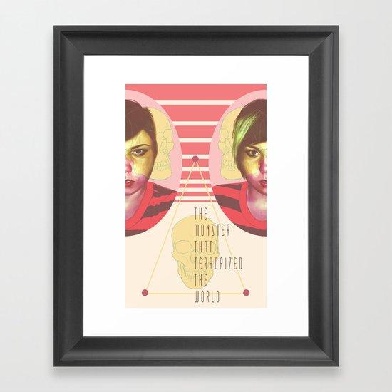 The Horror Enthusiast Framed Art Print