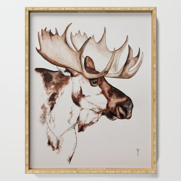 Deer | Scandinavian Moose Serving Tray