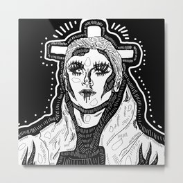 Farrah Moan Metal Print