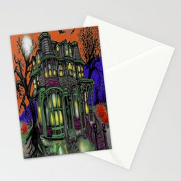 Old Victorian Queen II Stationery Cards