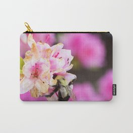 Pink Bee Carry-All Pouch