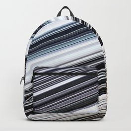 silver stripes Backpack