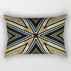 Glam Cross Star Rectangular Pillow