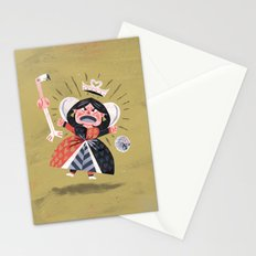 Queen of Hearts - Alice in Wonderland Stationery Cards
