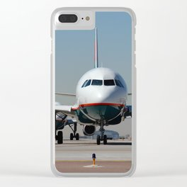 AIRLINER2 Clear iPhone Case
