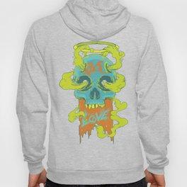Rage Love Skull Hoody