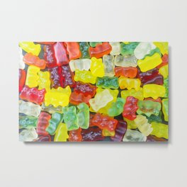Fresh Gummy Bears Metal Print