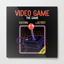 Video Game Metal Print