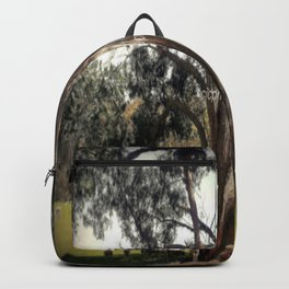 Under the shade of a Coolabah Tree Backpack