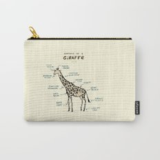 Anatomy of a Giraffe Carry-All Pouch