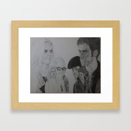 Your Beginnings Framed Art Print