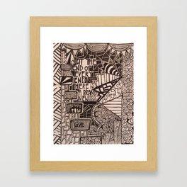 No.4 Framed Art Print