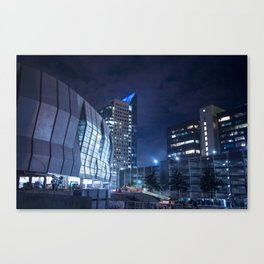 All trough the late night Canvas Print