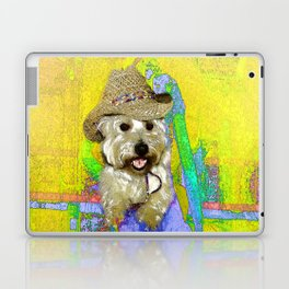 West Highland White Terrier - Ready To Go? Laptop & iPad Skin