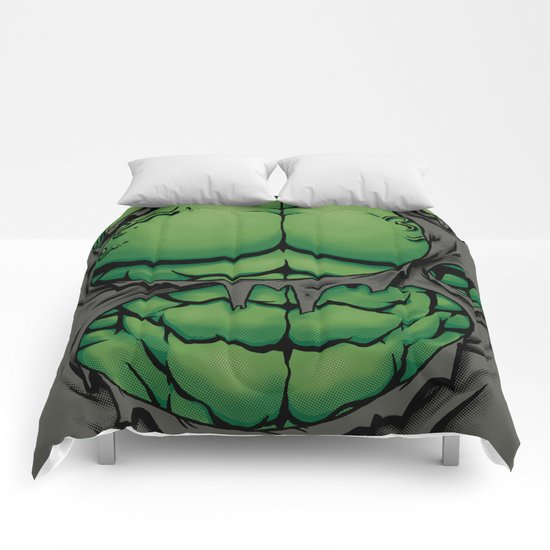 The Green Giant Comforters