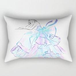 Ball Gown Rectangular Pillow