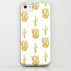 Gold Cactus Slim Case iPhone 5c