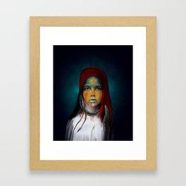 Chalchiuhtlicue Framed Art Print