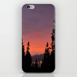 Sunset inYellowstone Park iPhone Skin