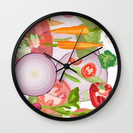 The Kitchen Sink Wall Clock