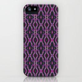 Glitch Pattern 4 iPhone Case