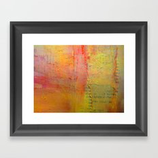 March to the Beat... Framed Art Print