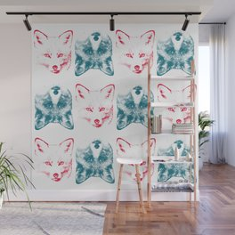 Foxes are Flipping Wall Mural