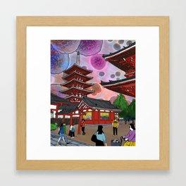 Tokyo Afternoon Framed Art Print