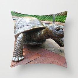The Tortoise Throw Pillow