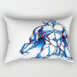 Omega Man Rectangular Pillow
