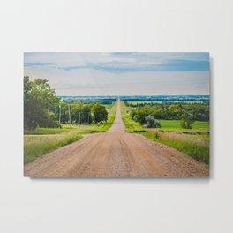 Kongsberg, North Dakota 2 Metal Print