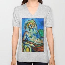 Sario painter, Najade Unisex V-Neck
