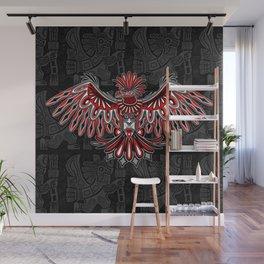 Eagle Tattoo Style Haida Art Wall Mural