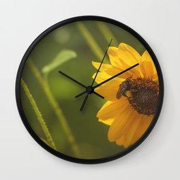 Buzzin' Around Wall Clock