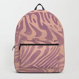 Watercolor Beige Pattern Backpack