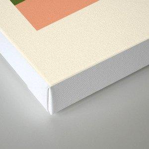 geometric abstract 50 Canvas Print