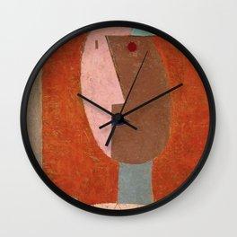 Paul Klee - Clown Wall Clock