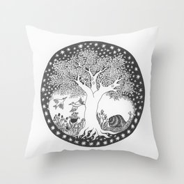 Startree: In the Meadow Throw Pillow