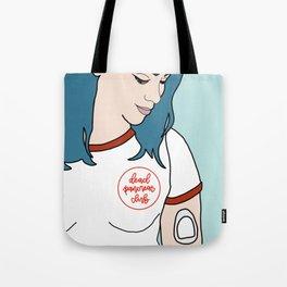 Katabetic - Blue Hair Tote Bag