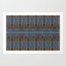 crocodile rich Art Print