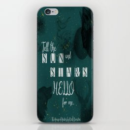 Sun & Stars-Percy Jackson iPhone Skin