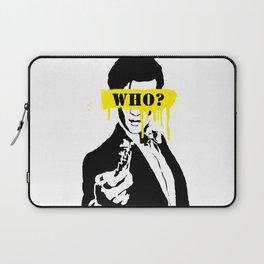 Doctor Who #yellow Laptop Sleeve