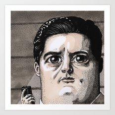 Dale Cooper Art Print