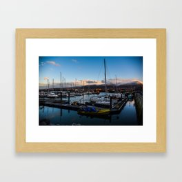 Fenit Harbour and Marina Tralee County Kerry Ireland Framed Art Print