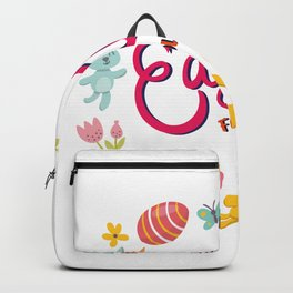 Happy Easter Fools Day Backpack